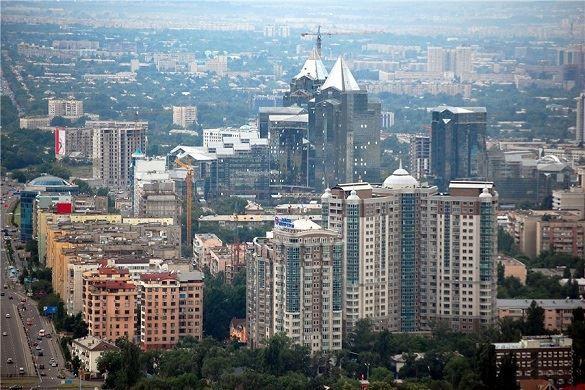 Фото города Алма-Ата Казахстан