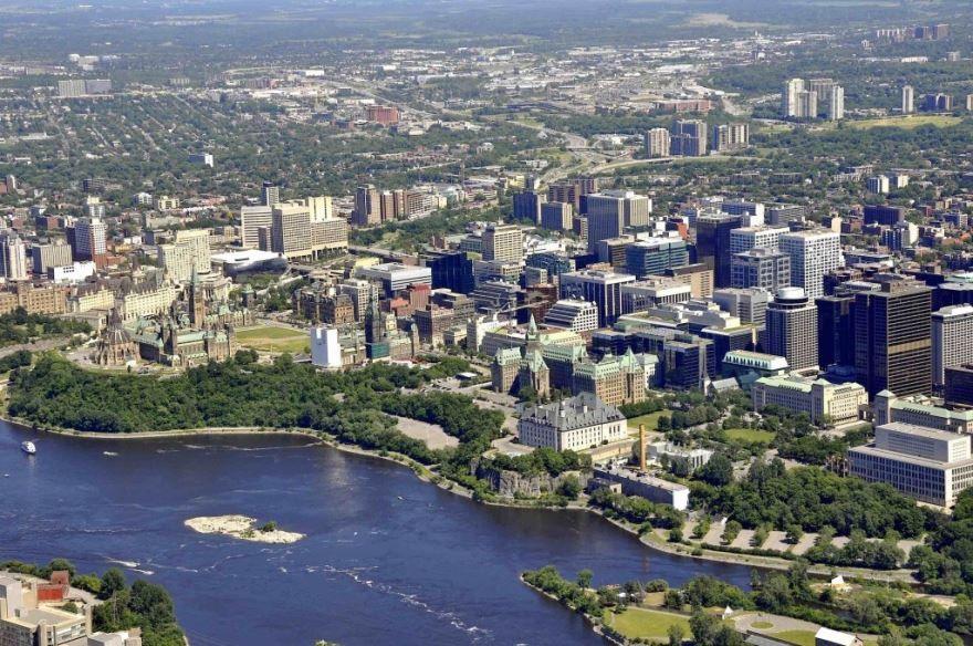 Панорама город Оттава