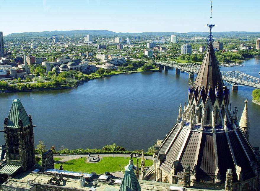 Фото города Оттава Канада