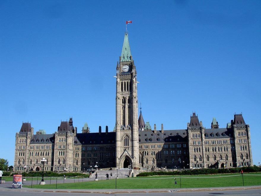 Башня Мира город Оттава Канада