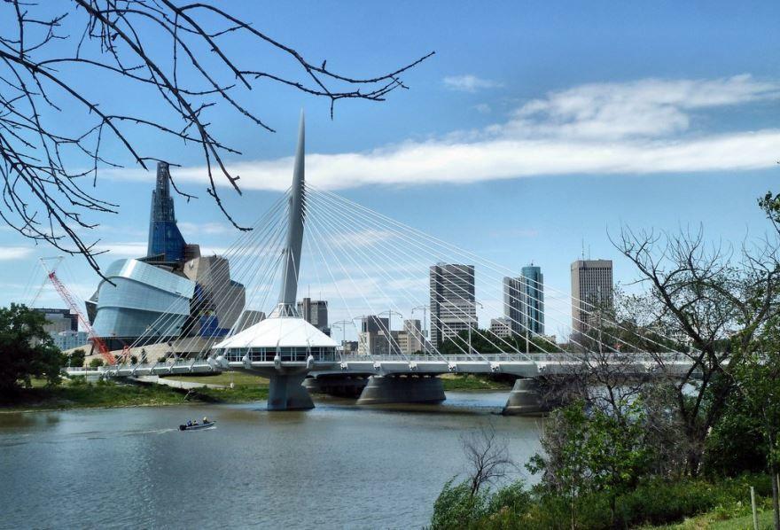 Фото города Виннипег Канада