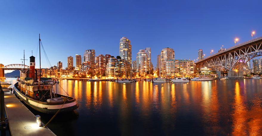 Фото города Ванкувер Канада