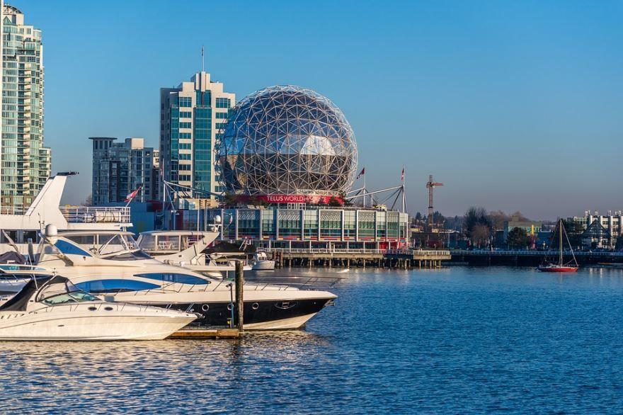 Смотреть красивое фото город Ванкувер