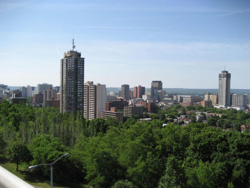 Вид на город Гамильтон