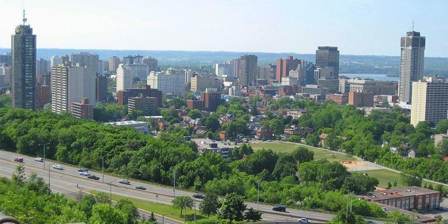 Фото города Гамильтон Канада