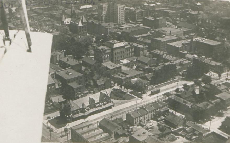 Панорама города Гамильтон Канада