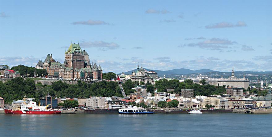 Фото города Квебек Канада