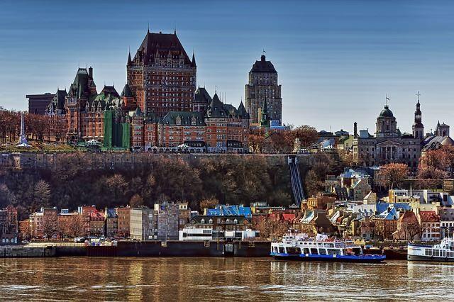 Скачать онлайн бесплатно лучшее фото город Квебек в хорошем качестве