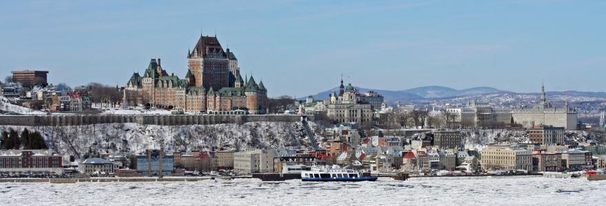 Панорама город Квебек