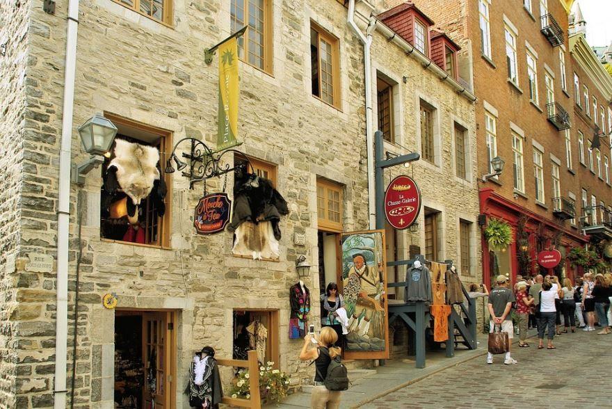 Старый город Квебек