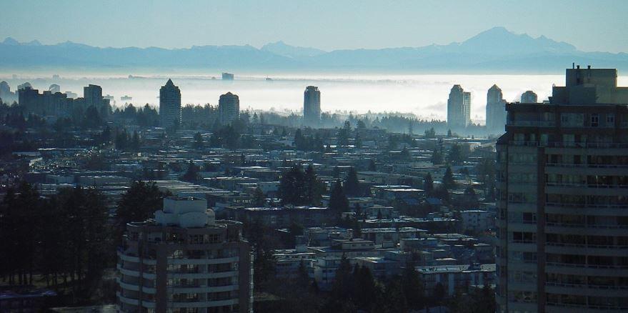 Фото города Суррей Канада