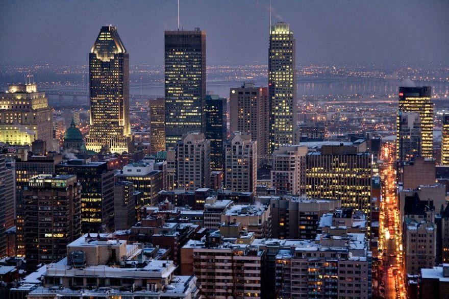 Смотреть красивое фото город Монреаль