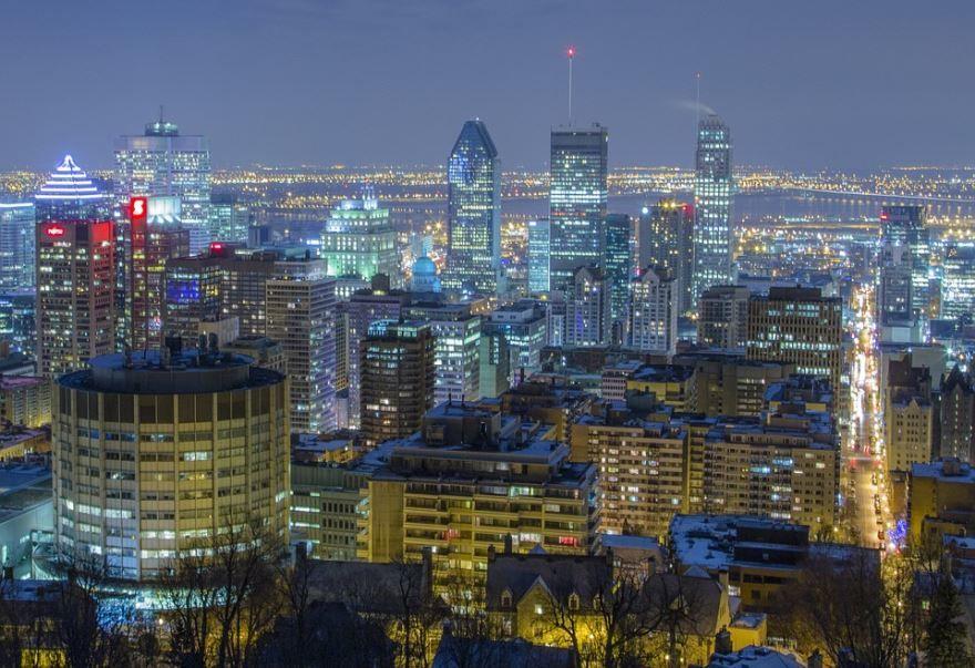Фото города Монреаль Канада