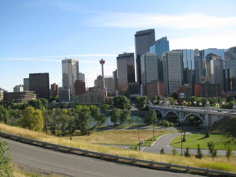 Фото города Калгари Канада