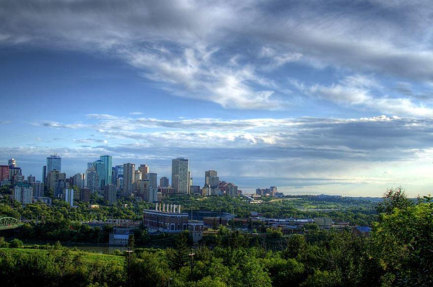 Фото города Эдмонтон Канада