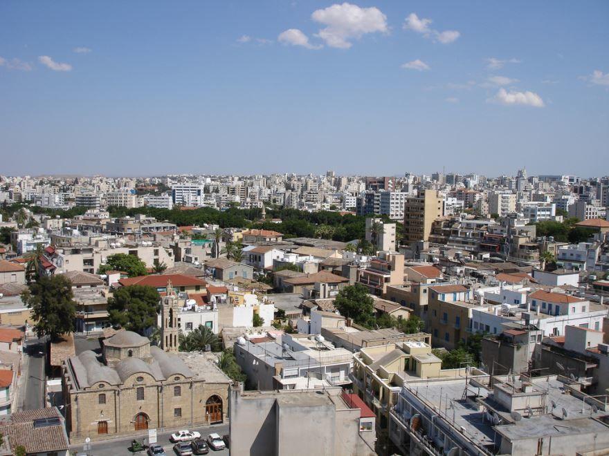 Смотреть красивое фото город Никосия