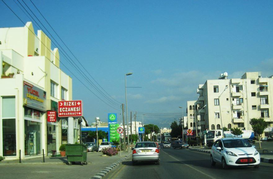 Улица город Никосия