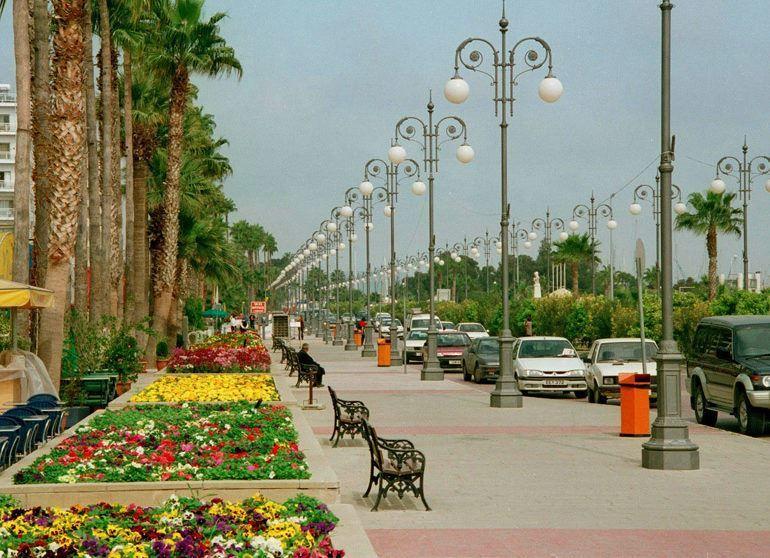 Красивое фото город Ларнака
