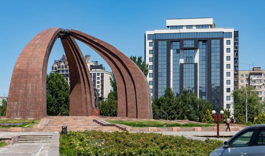 Смотреть красивое фото город Бишкек