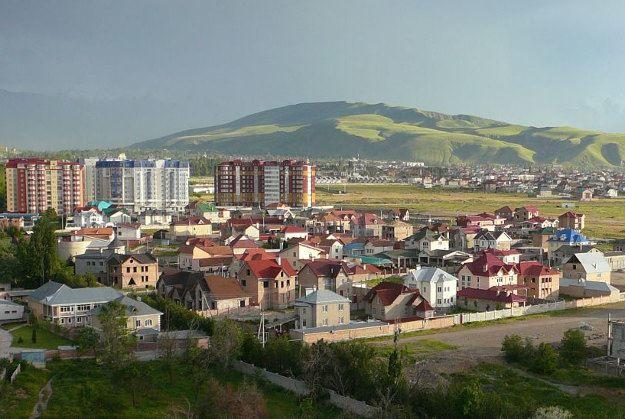 Панорама город Бишкек