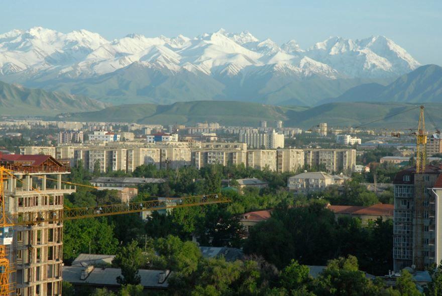 Фото города Бишкек Киргизия
