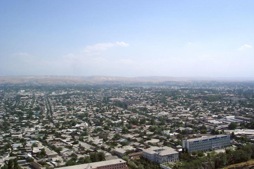 Панорама город Ош