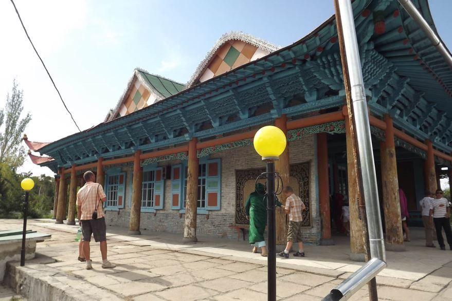 Мечеть города Каракол Киргизия
