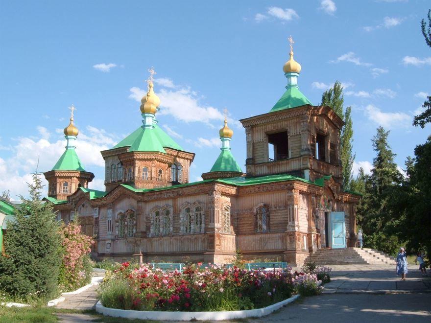 Собор города Каракол Киргизия