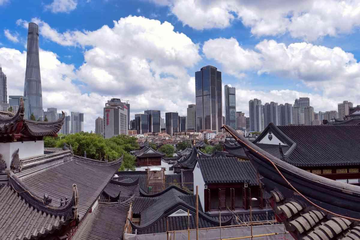 Смотреть красивое фото город Шанхай
