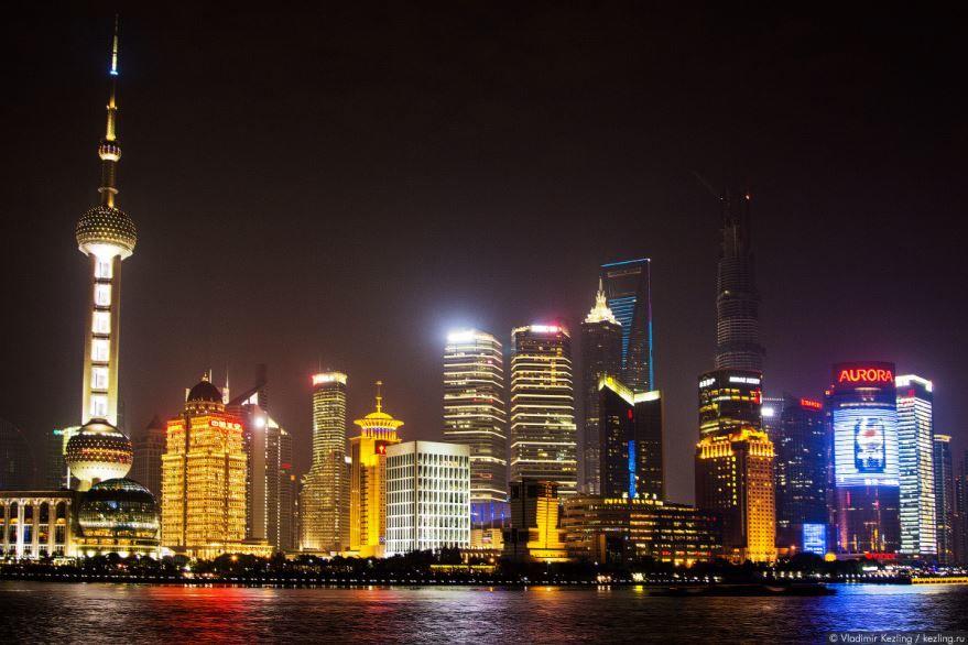 Фото города Шанхай Китай