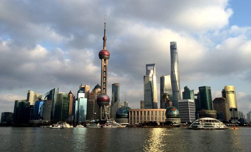 Скачать онлайн бесплатно лучшее фото город Шанхай в хорошем качестве