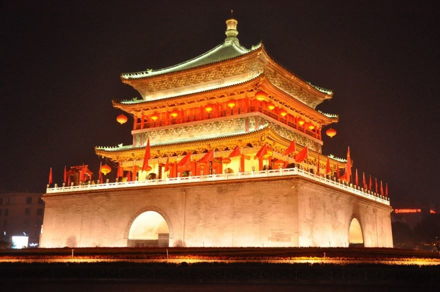 Красивая архитектура города Пекин Китай