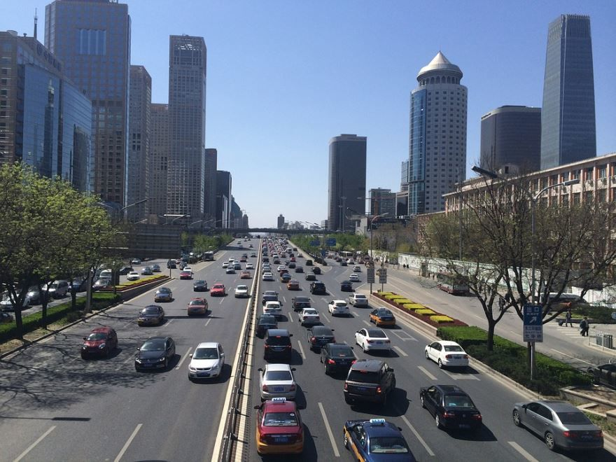 Улица города Пекин