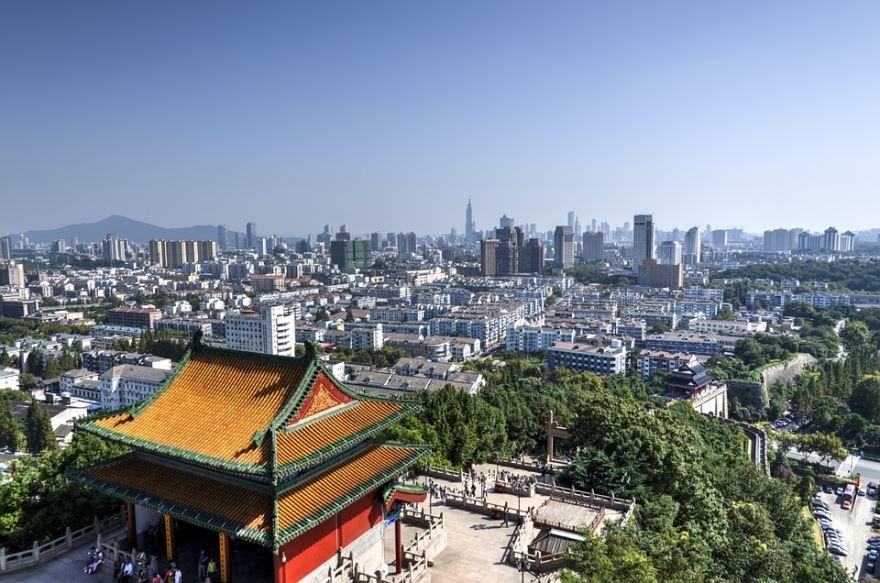 Скачать онлайн бесплатно лучшее фото город Нанкин в хорошем качестве