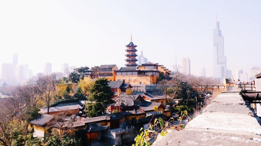 Скачать онлайн бесплатно лучшее фото города Нанкин в хорошем качестве