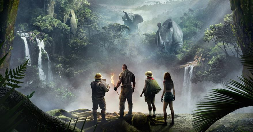 Бесплатные кадры к фильму Джуманджи: Зов джунглей в качестве 1080 hd