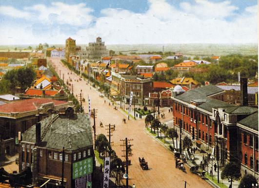 Улица город Шэньян Китай