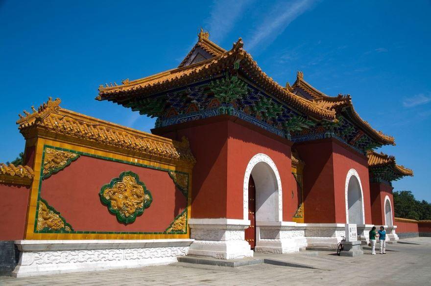 Архитектура города Шэньян Китай