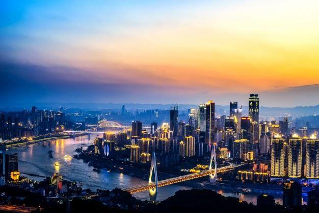 Фото города Чунцин Китай