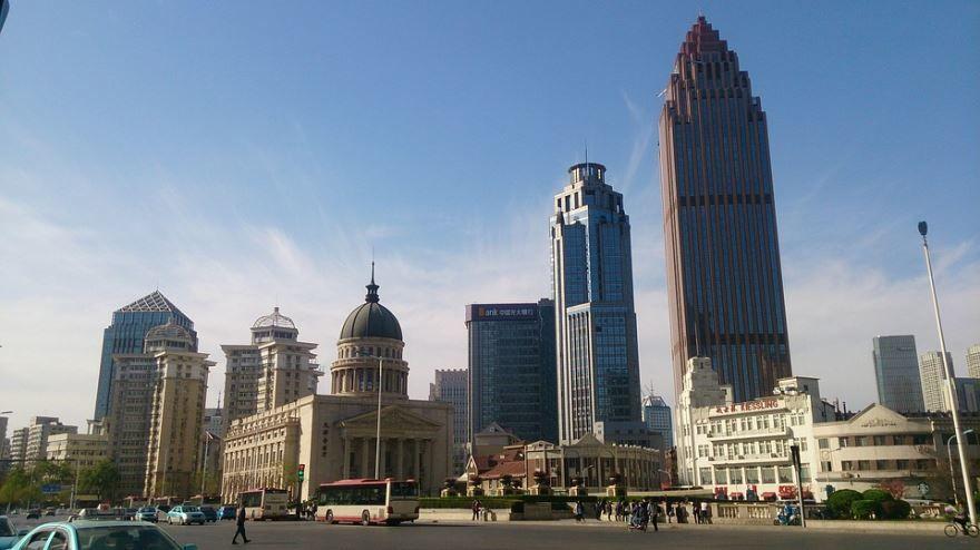Вид на город Тяньцзинь