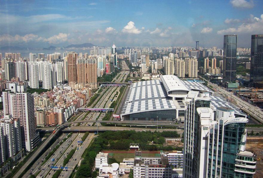 Вид на город Шэньчжэнь
