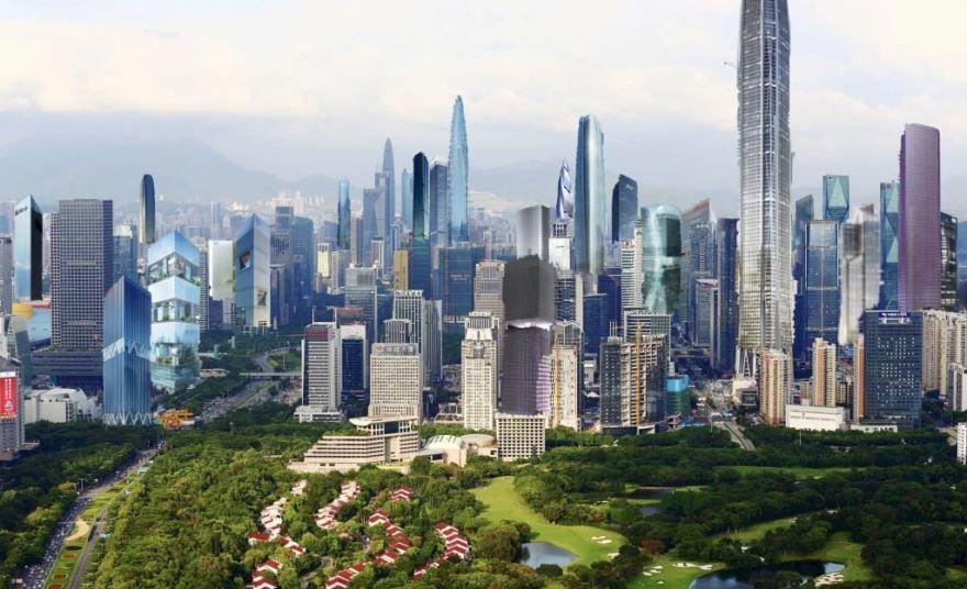 Фото города Шэньчжэнь Китай
