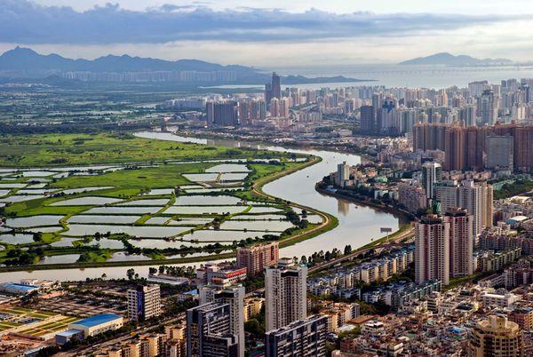 Панорама города Шэньчжэнь