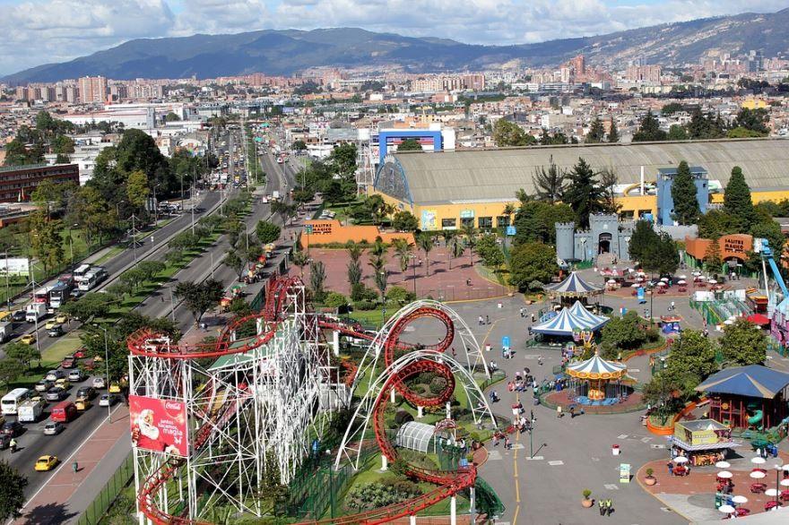 Фото города Богота Колумбия