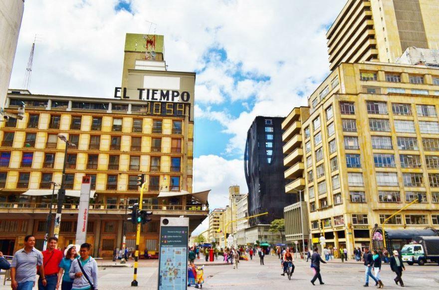 Смотреть красивое фото города Богота