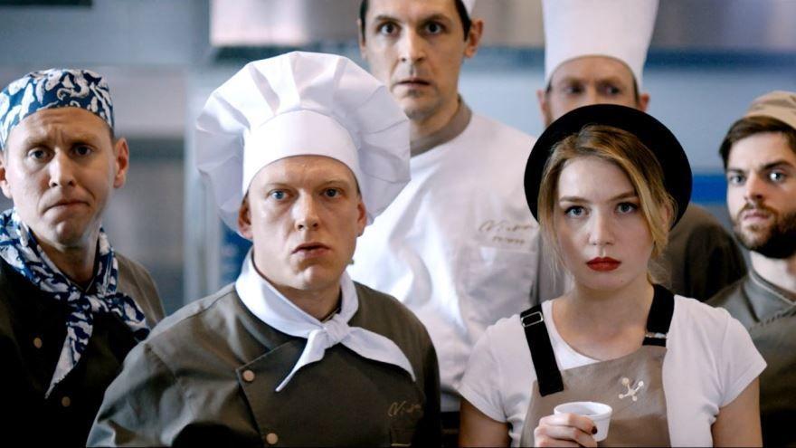 Бесплатные кадры к фильму Кухня. Последняя битва в качестве 1080 hd