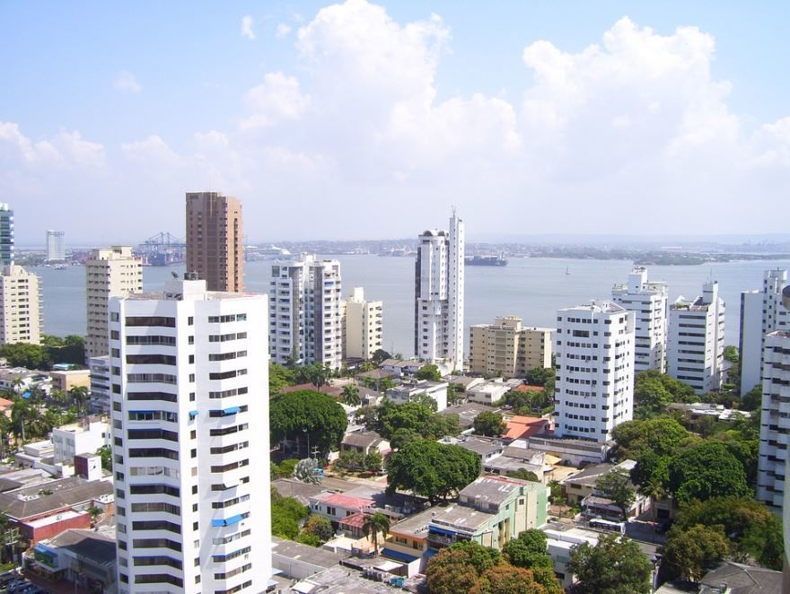 Фото города Картахена Колумбия