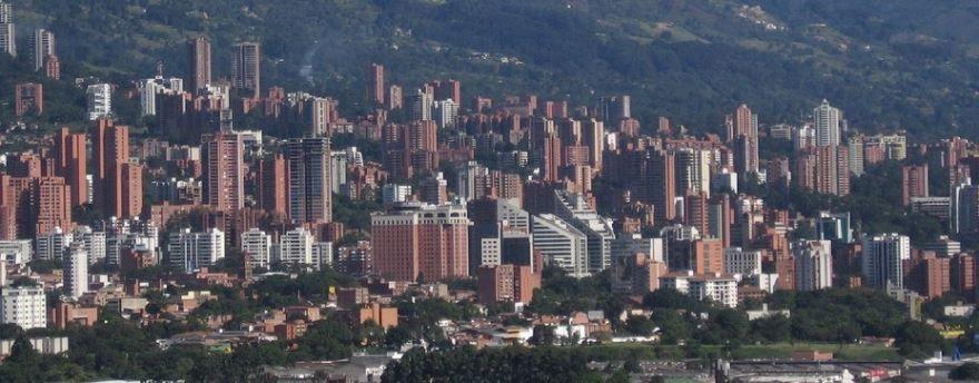 Фото города Медельин Колумбия