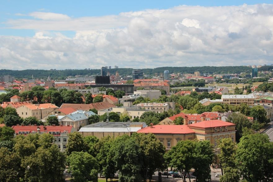Фото города Вильнюс Литва