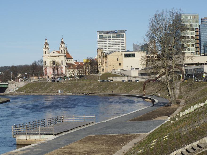 Смотреть красивое фото город Вильнюс Литва